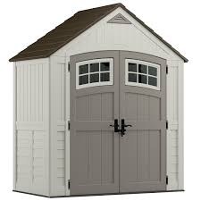 171 cu ft cascade 7 x 4 storage shed suncast corporation