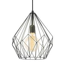black kitchen lighting eglo open cage pendant in black kitchen pendants pendant