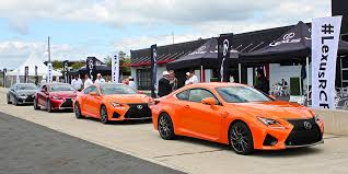 new lexus rcf 2015 lexus rc f track day