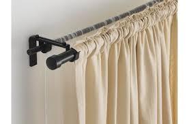 Oversized Curtain Rod Brilliant Oversized Adjustable Metal Double Rod West Elm Double