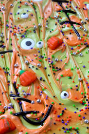 easy halloween appetizers recipes easy halloween bark frankenstein fun momdot