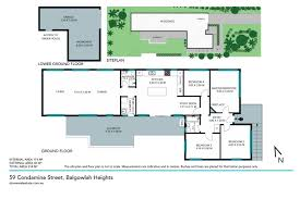 The Panorama Floor Plan by 59 Condamine Street Balgowlah Heights 2093 Nsw Stone Real Estate