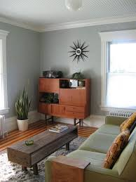 Mid Century Modern Area Rugs by Mid Century Modern Living Room White Paint Color Wooden Chest