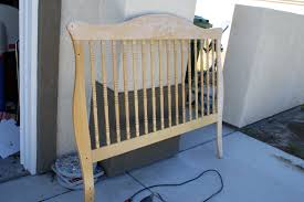 Old Baby Cribs by Turn A Crib Into A Bench