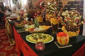 fruit displays indian wedding caterers london wedding event services