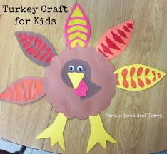 thanksgiving food crafts for kids turkey craft for kids big and little family food and travel