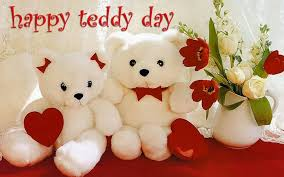 valentines day teddy bears happy teddy day two teddy bears picture
