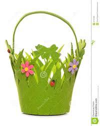 spring easter basket royalty free stock image image 35144696