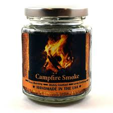 campfire smoke 12oz triple wood wick super scented soy candle
