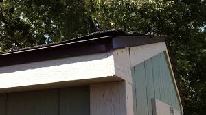 tuff shed roof youtube
