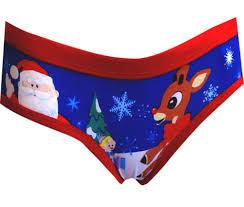 webundies com rudolph the red nosed reindeer holiday panty