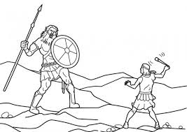 coloring page david coloring page bible pages king 004 david