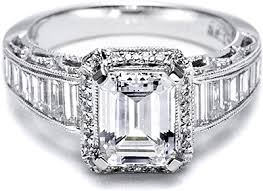 Tacori Wedding Rings by Tacori Diamond Engagement Ring For An Emerald Or Radiant Cut Ht2531