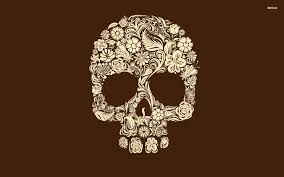 halloween skeleton wallpaper day of the dead skull makeup wallpaper