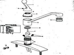Leaky Kitchen Faucet Kohler Faucet Replacement Parts Single Handle Kitchen Faucet