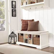 Storage Seating Bench Furniture White Storage Bench Entryway Bench With Storage