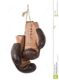 vintage old boxing gloves stock photo image 43808888