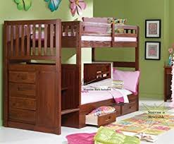 Bunk Bed Stairs With Drawers Stair Step Bunk Bed With 3 Drawer Bunk Pedestal