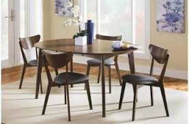 coaster malone mid century dining room collection by dining rooms