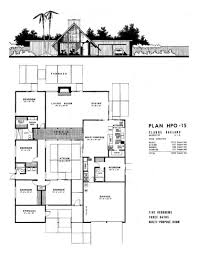 Atrium Ranch Floor Plans by 25 Best Joseph Eichler Ideas On Pinterest House Atrium