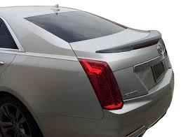 cadillac cts styles cadillac cts 4 door sedan flush mount factory style spoiler 2014 2017