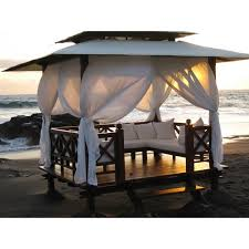Outdoor Gazebo With Curtains 25 Excellent Gazebos With Curtains Pixelmari