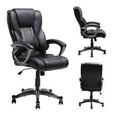 amazon com myka u0027s ergonomic leather executive office chair high