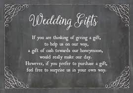 wedding gift money amount how to ask for wedding gifts
