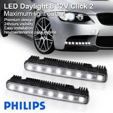 What Are Drl Lights 100 Authentic Philips Luxeon Led Daylight 8 Daytime Running Light