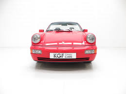 porsche 964 red an outstanding porsche 964 carrera 2 cabriolet sold pe1 retro