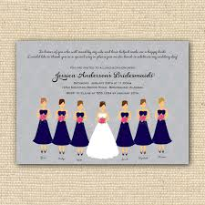bridesmaids invitation bridesmaid invitations