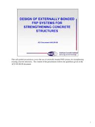 seminario online aci 440 2r 08 pdf fibre reinforced plastic