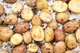 Spanish Root Vegetables - roasted new potatoes recipe simplyrecipes com