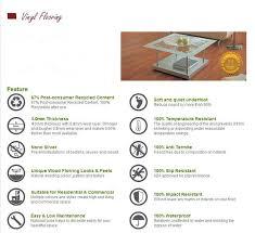 eco durable plastic linoleum flooring wholesale price in