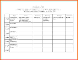11 action plan template word survey template words