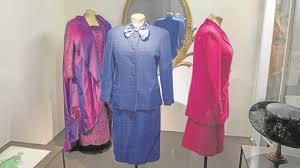 la ropa margaret thatcher ya es pieza museo