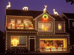Outdoor Christmas Lights Decorations by Houses Decorated For Christmas Christmas Lights Decoration