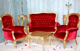 canape baroque coup de coeur pour cet ensemble fauteuils canapé style baroque de