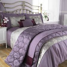 Plum Bed Set Plum Bedding White Bed