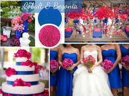 images of royal blue and pink wedding invitations monogram