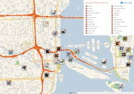 Chicago Attractions Map by Maps Update 21051488 Miami Tourist Attractions Map U2013 Filemiami