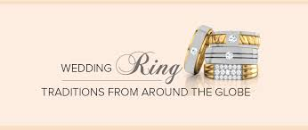 wedding ring traditions from around the globe the caratlane edit