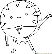 peppermint candy coloring page free adventure time coloring