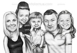 order sketch effect caricature photo to pencil sketch worldwide