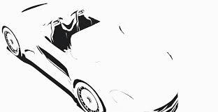 porsche cartoon drawing 3d model porsche 918 cgtrader