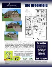 brookfield custom home builders simmons homes