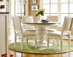 Dining Room Awesome Classic Dining Room Design With Small Round - Woven dining room chairs