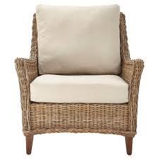 Home Decorators Collection Genie Grey Kubu Wicker Club Arm Chair