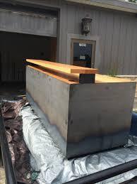 custom made reception desk industrial reception desk real edge furniture shop onsingularity com