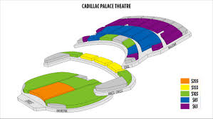 cadillac theatre seating chart socialmediaworks co